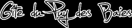 Gîte du Puy des Baies